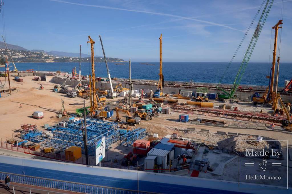 Anse du Portier: важнейший проект обновления городского ландшафта Монако