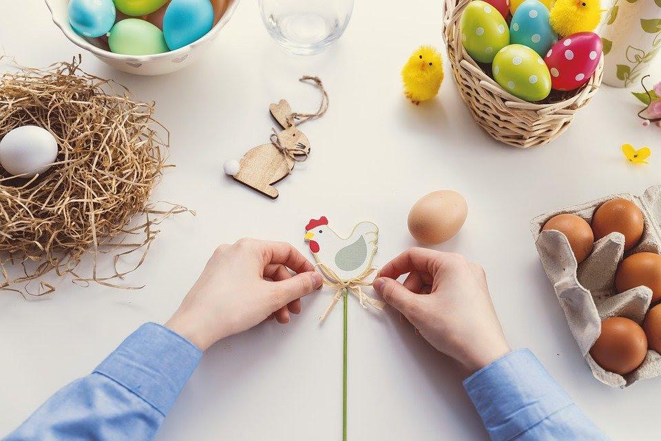Католическая Пасха - история шоколадного зайца