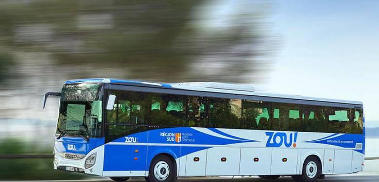 Новый автобус между Больё-сюр-мер, Монако и Ментоном