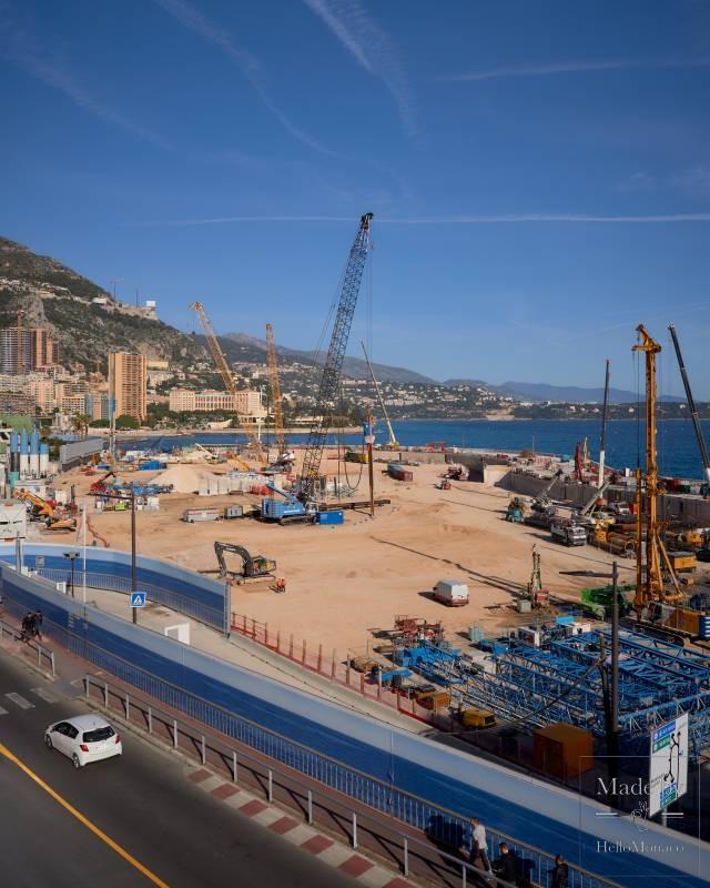 Следующий этап проекта по расширению в море: строительство зданий