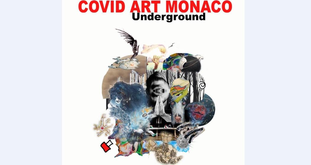 """Выставка работ художников """"Covid Art Monaco"""""""