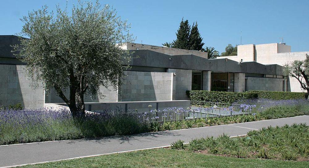 Мастер-класс в Национальном музее Шагала в Ницце
