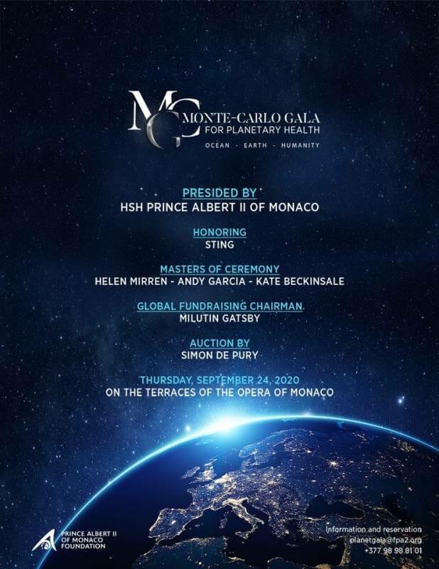 Звёздный гала-вечер Фонда князя Монако Альбера II