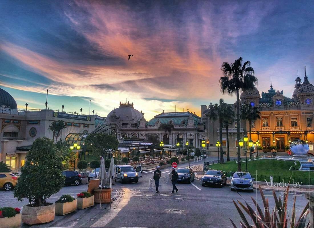Места в Монако, где ношение маски теперь тоже обязательно