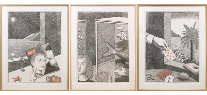 Выставка иллюстратора Пьера Ле-Тана