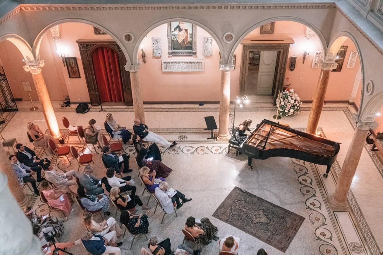 Концерт пианистки Татьяны Смеловой на Вилле Эфрусси-де-Ротшильд