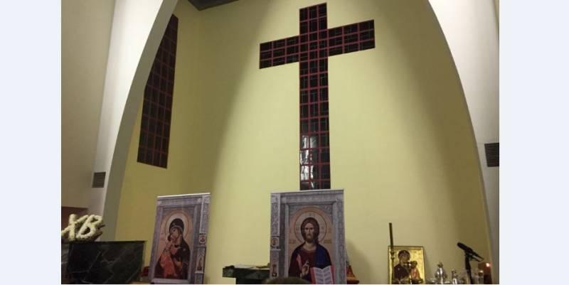 Богослужение в Православном приходе Монако