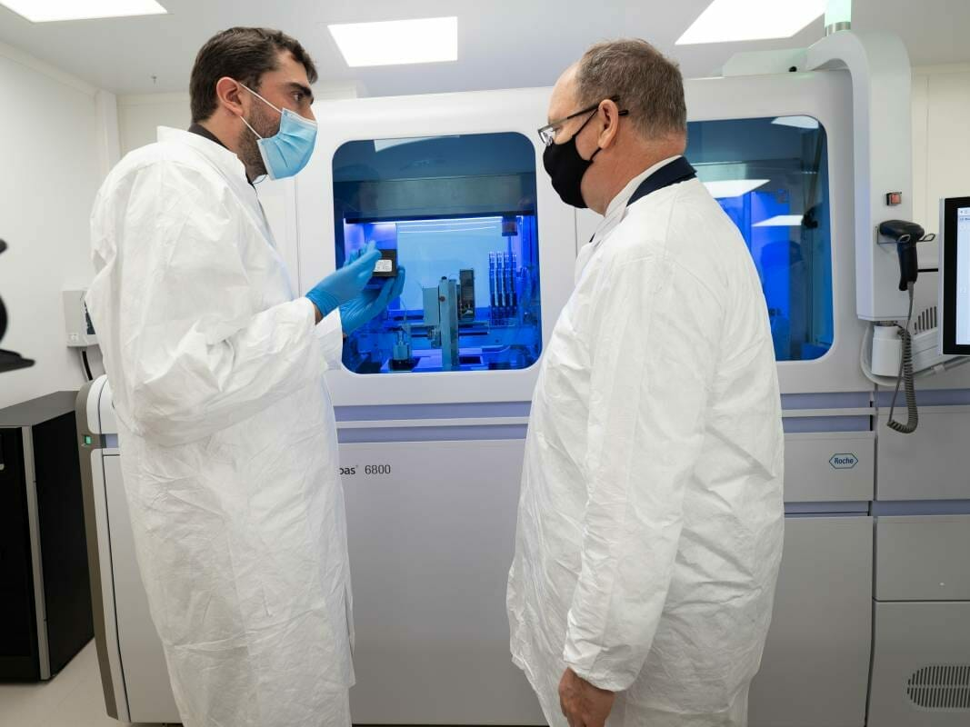 Научный центр Монако: новая лаборатория делает княжество ведущим диагностическим центром в борьбе с Covid-19