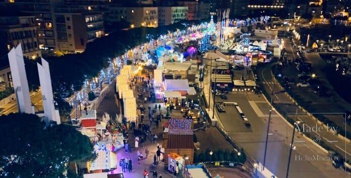 Рождественская деревня Монако