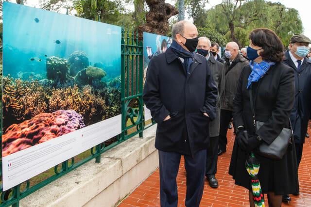 Новая фотовыставка в Монако была открыта князем Альбером II