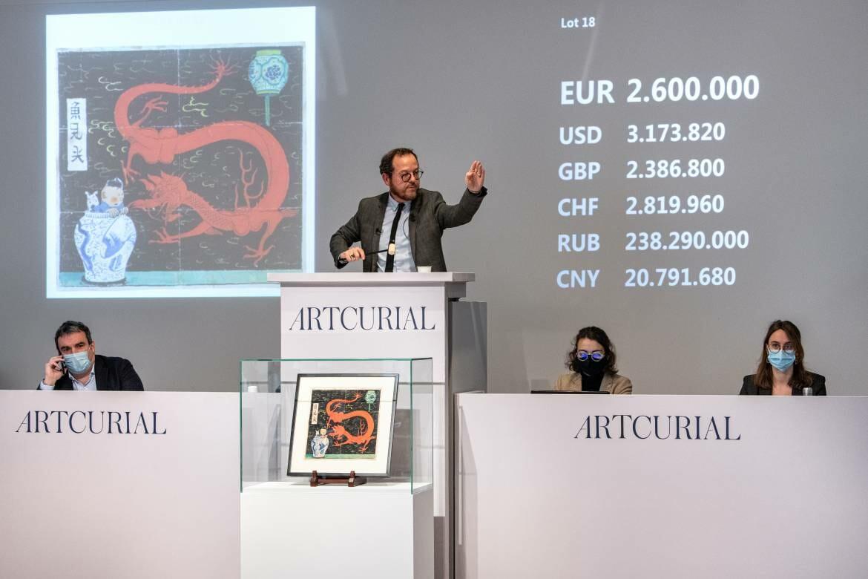 Artcurial продаёт на аукционе комикс за рекордную сумму