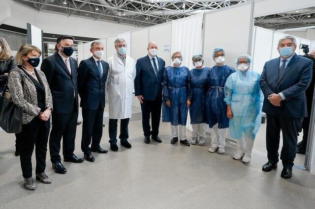 В Монако открылся новый Центр вакцинации против сovid-19