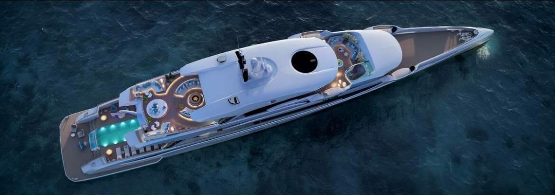 Самая длинная моторная яхта в мире в категории менее 500GT