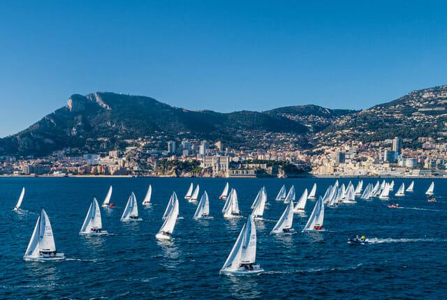 Третья серия знаменитой регаты завершает зимний сезон Монако
