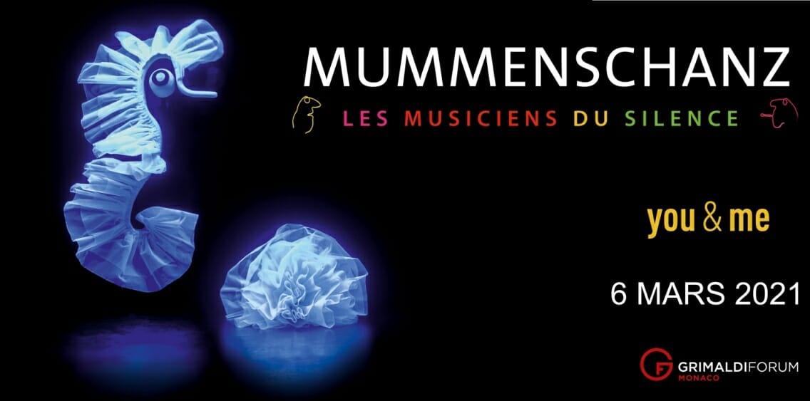 Спектакль «You & me» от труппы Mummenschanz