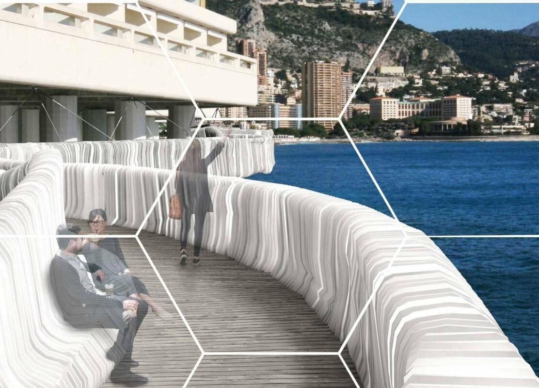 Новый мост может соединить порт Эркюль с кварталом Портье
