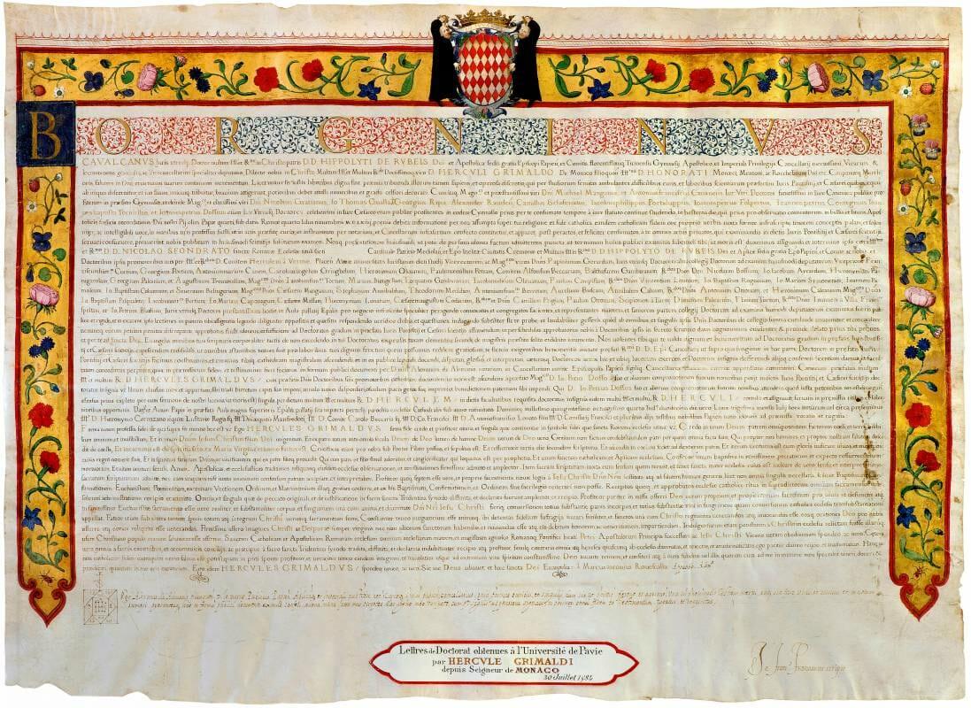 Эркюль I, доктор права и отец первого суверенного князя Монако