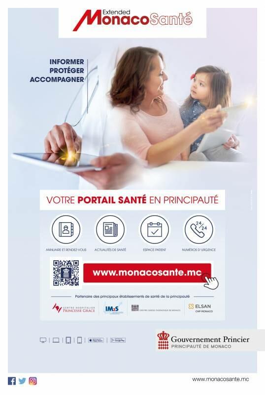 Новый портал Monaco Santé предлагает ряд услуг