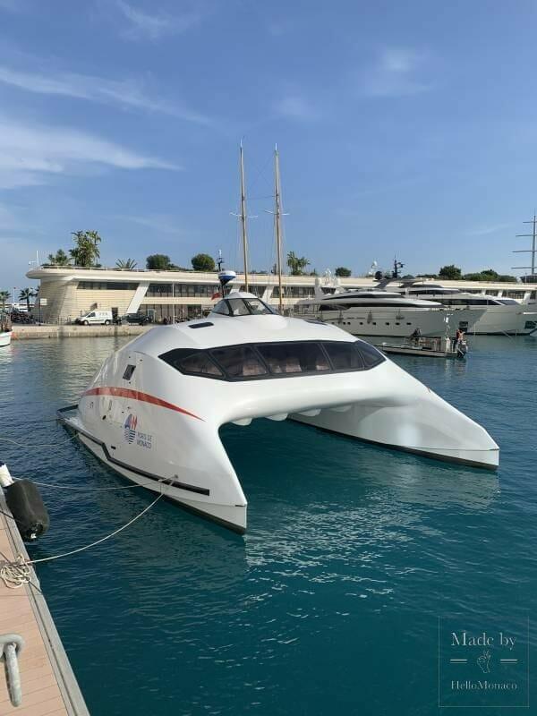 Торжественный запуск мини-катамарана Monaco One в княжестве