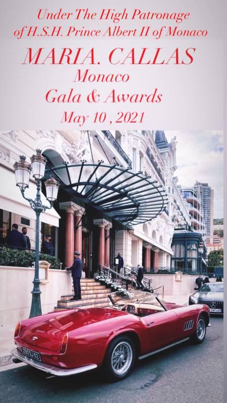 Гала Maria Callas Monaco Gala&Awards становится всё ближе