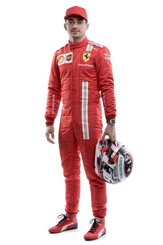 Шарль Леклер, монегасский пилот Scuderia Ferrari