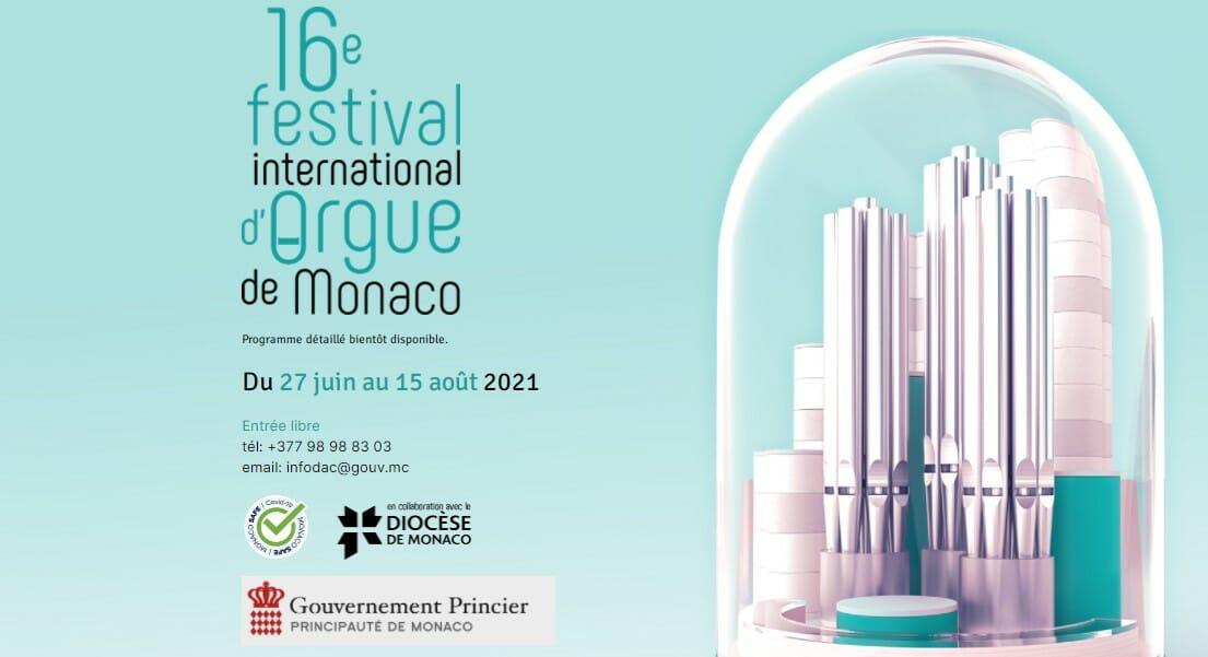 16-й Международный органный фестиваль в Монако