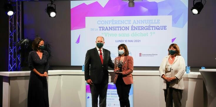 Гримальди Форум награждён за стремление сокращения отходов