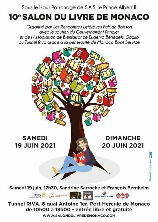 10-я книжная ярмарка Monaco Book Fair