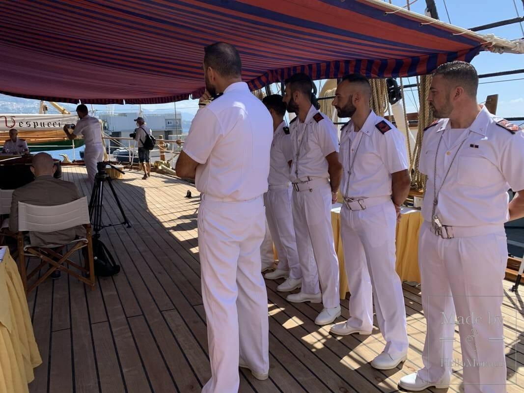 Жемчужина итальянского флота в порту Монако