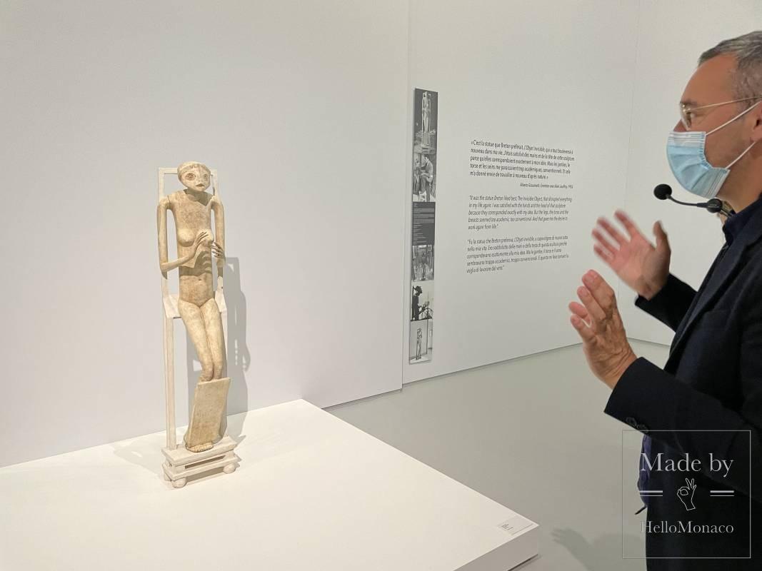 Потрясающая эклектика Альберто Джакометти в Гримальди Форуме