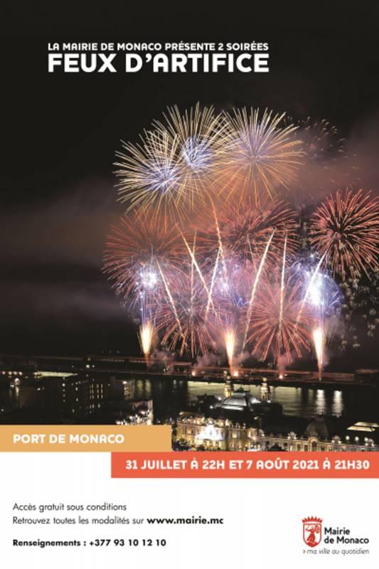 Сотни фейерверков озарят порт Эркюль в Монако