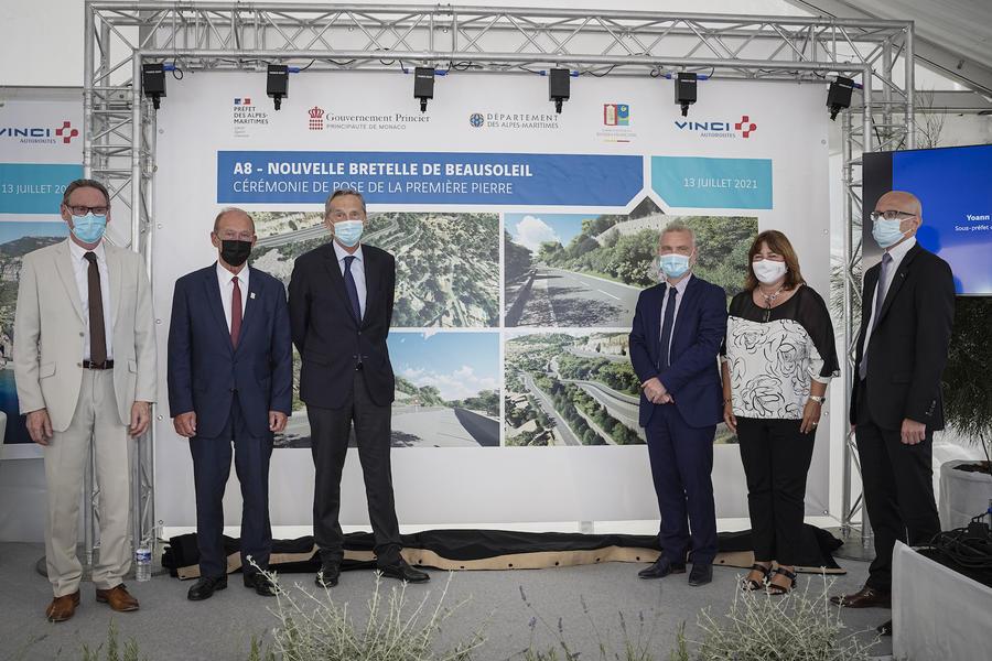 Новый съезд с A8 на уровне Босолей: первый камень заложен