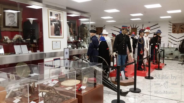 История корпуса княжеских карабинеров Монако