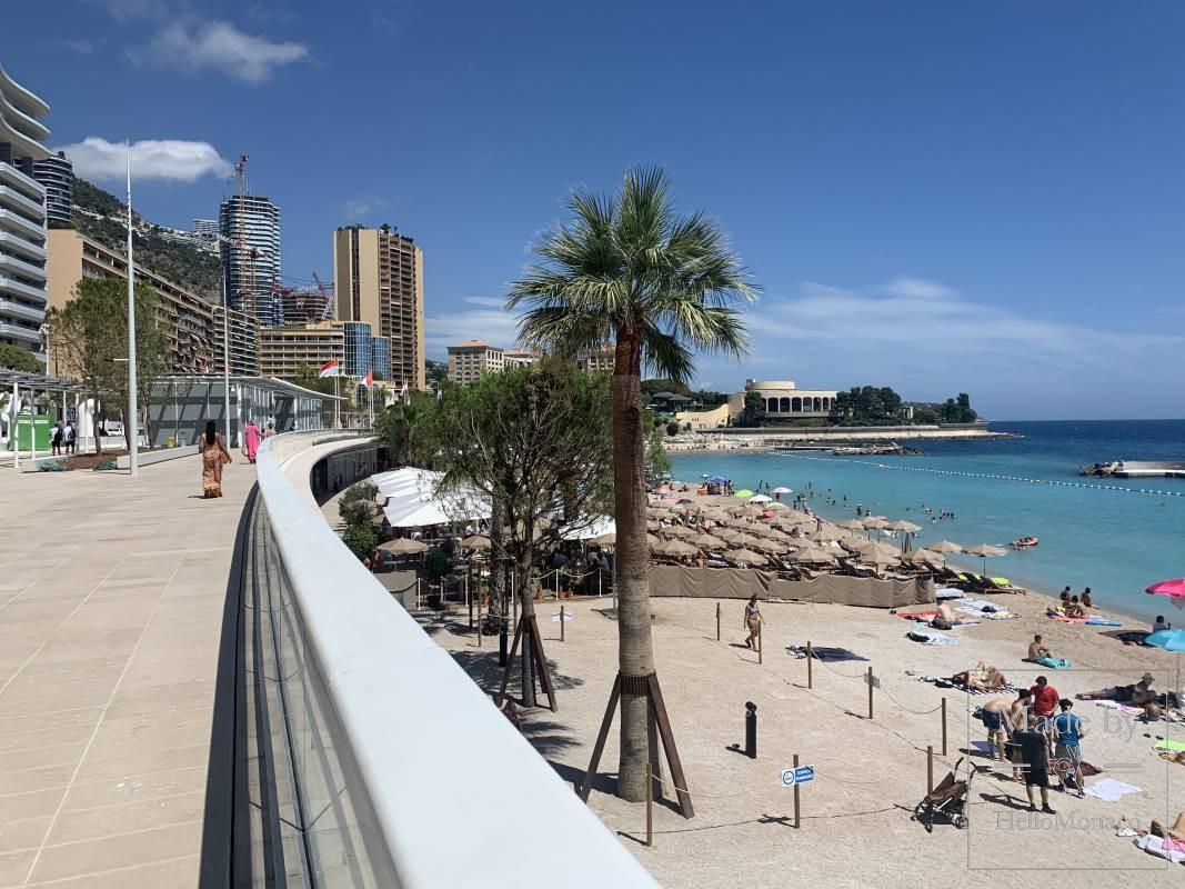 Три места на пляже Ларвотто назовут в честь великих женщин Монако