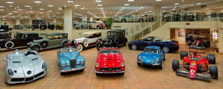 Коллекции автомобилей князя пополнилась двумя экспонатами