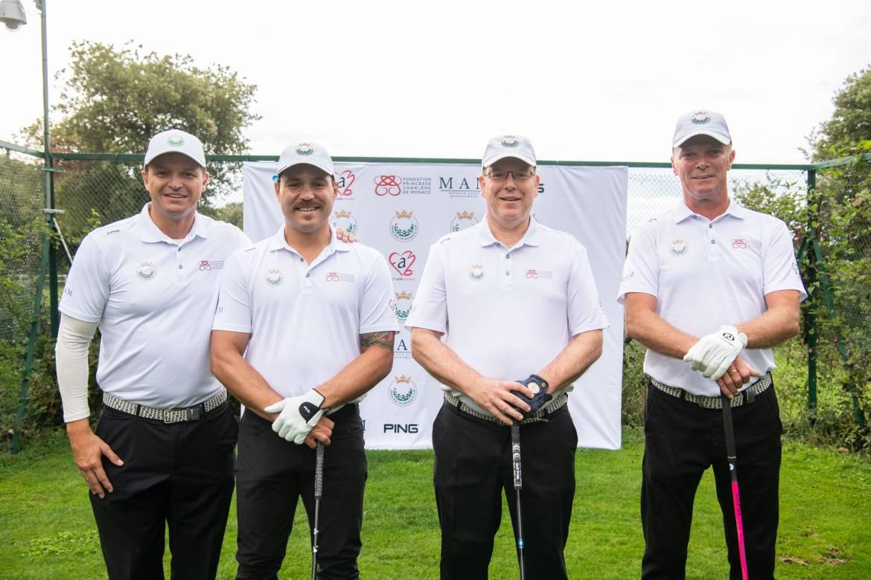В княжестве прошёл благотворительный турнир по гольфу
