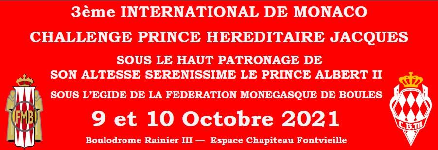 3-й Международный турнир по петанку имени наследного принца Жака