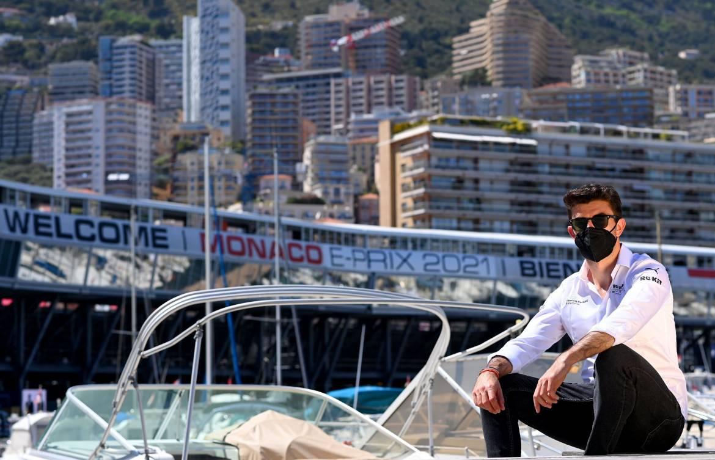 Words of Wisdom in Monaco: пилот RoKit Venturi Норман Нато