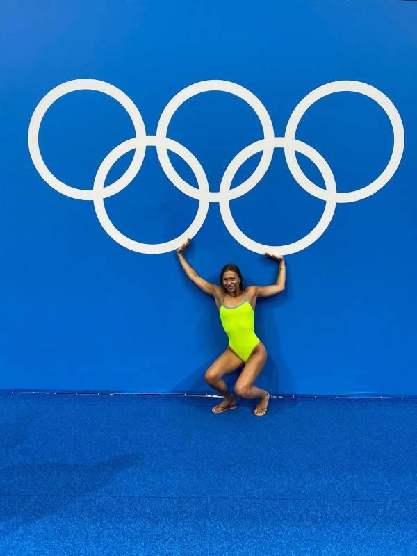 Олимпийские атлеты Монако. Интервью с Клодией Вердино